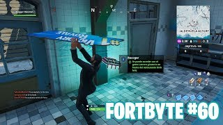 Fortnite Battle Royale ? Fortbyte Challenges How to get the Fortbyte #60