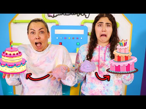 TURN THIS UGLY SLIME INTO A PRETTY CAKE SLIME! Slimeatory #654