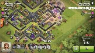 Layout Farm Clash Of Clans CV 9 Th 9 elixir negro