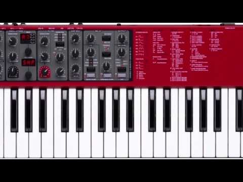 Nord A1 Sound Demo - 80's and Beyond Famous Sounds