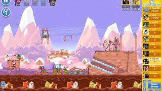 Angry Birds Friends/ SantaCoal i CandyClaus tournament, week 295/1, level 3
