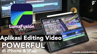 Aplikasi Editing Video Terbaik di iPad dan iPhone 2018 : LumaFusion Review Indonesia by iTechlife iPad 検索動画 8