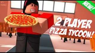 Roblox - 2 Player Pizza Tycoon Gameplay Trailer
