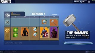 NEW SEASON 5 *SKIN THEME LEAKED*! SUPER HERO SKINS IN FORTNITE!!