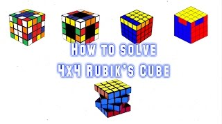 Cách giải 4x4 ( phần cuối )