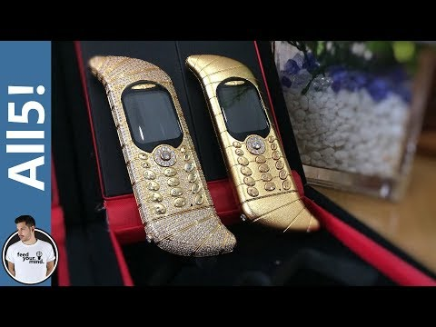5 Of The Most Expensive Cell Phones!
