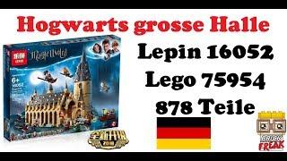 Harry Potter Grosse Halle - Lepin 16052 - Lego 75954