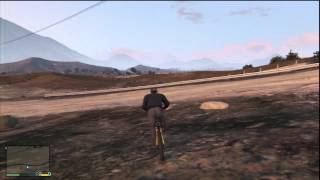 GTA 5: Extreme Mountain Bike Riding