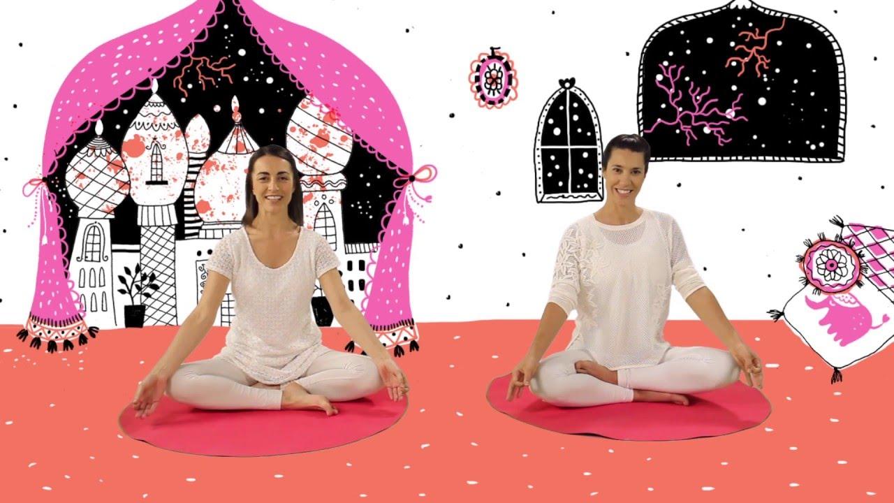 YOGIC TRAILER / Yoga para niños - Juegos y canciones infantiles