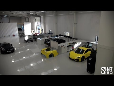 Arash Cars, the Full Tour - AF8, AF-10, and Factory Overview