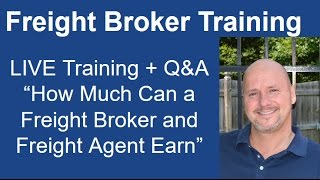 What is the typical salary of a freight broker?