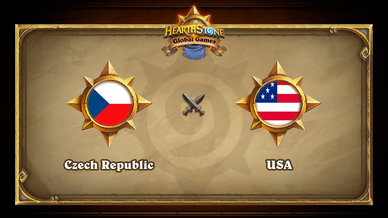 Czech Republick vs USA, Hearthstone Global Games Phase 2