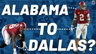 Alabama's Top Talent Who Could Join the Cowboys | Film Room | Blogging the Boys
