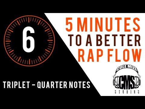 Triplet Quarter Notes: 5 Minutes To A Better Rap Flow - ColeMizeStudios.com