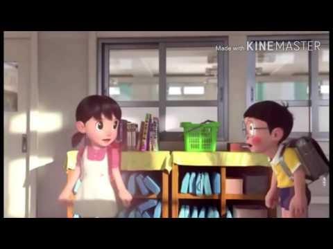 Mere rashke qamar song in Doraemon version