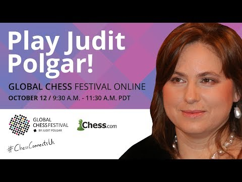 Global Chess Festival: Judit Polgar Plays 20 Opponents Simultaneously