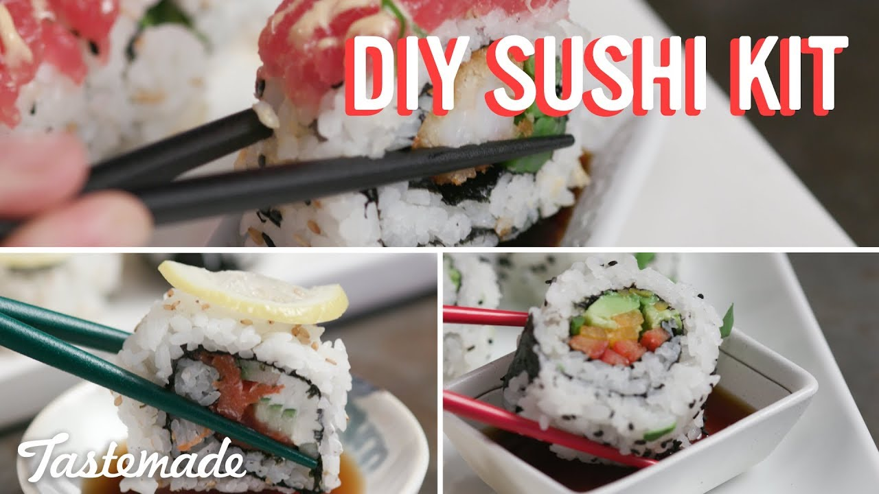 how to make sushi tastemade
