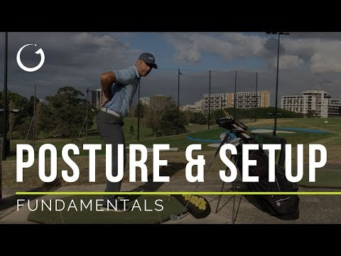 BEST POSTURE FOR THE GOLF SWING | Golf Fundamentals
