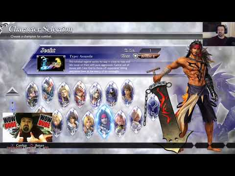 Dissidia NT Final Fantasy Beta gameplay pt1 – Character Select/Learning the Basics