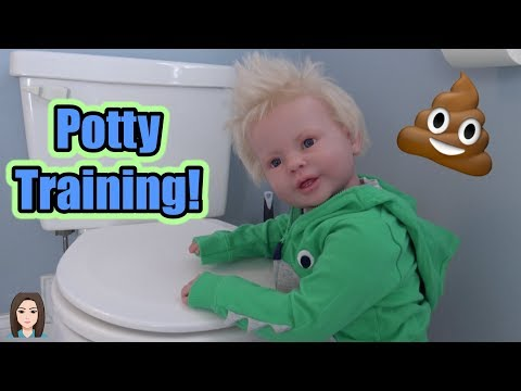 Potty Training Reborn Toddler Lane! | Kelli Maple