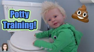Potty Training Reborn Toddler Lane!   Kelli Maple