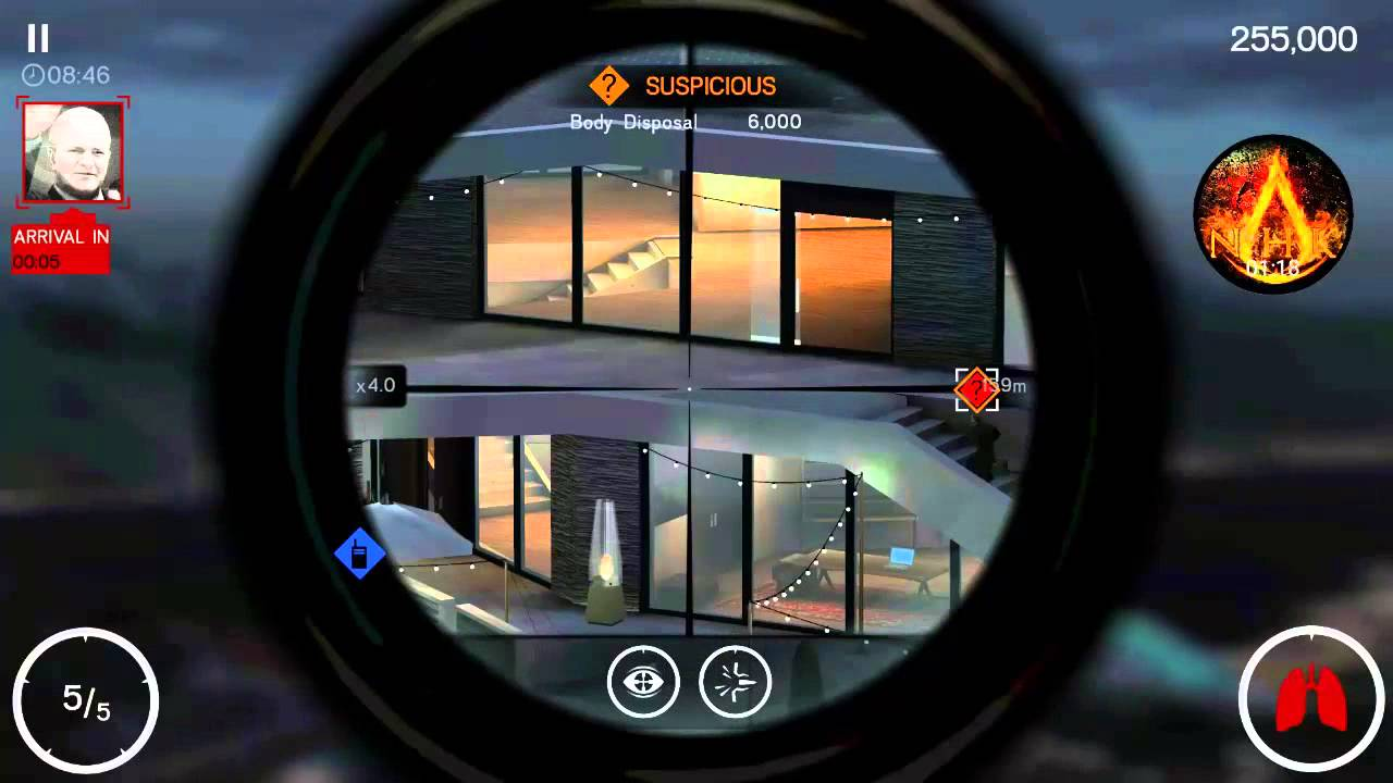 Hitman sniper chapter mission shoot twice on a fuse