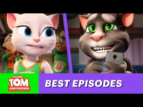 Talking Tom and Friends - The Most Embarrassing Episodes of Season 1 (Top 4)
