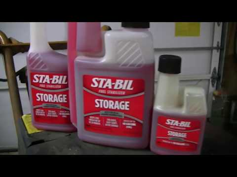 HOW TO WINTERIZE LAWN MOWER ENGINE WITH STA-BIL