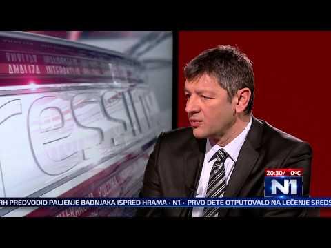 N1 Pressing:  Olja Bećković 06.01.2015.