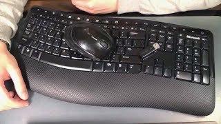 Клавиатура и мышь Microsoft Wireless Comfort Desktop 5000 Blue Track USB