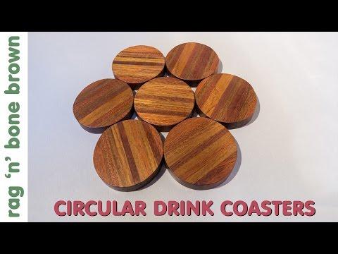 Making Some Hardwood Drinks Coasters
