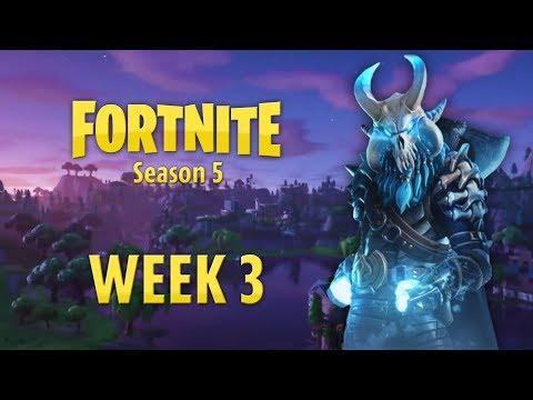 Fortnite Season 5 Week 3: FULL GUIDE