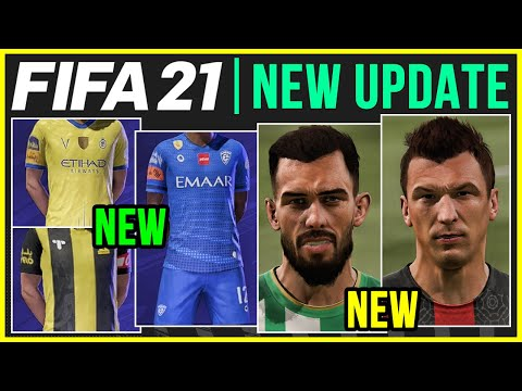 FIFA 21 NEWS | NEW BOOTS, BALLS, REAL FACES, KITS, CAREER MODE FIXES IN TITLE UPDATE #11