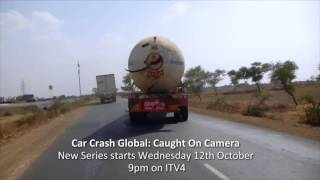 Crazy car crashes, smashes, road rage and great escapes from around the world