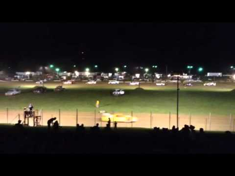 Paragon Speedway Super Stock Feature 7/18/15