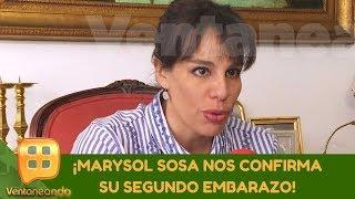 ¡Marysol Sosa nos confirma su segundo embarazo! | Programa del 07 de enero de 2020 | Ventaneando