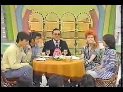 Cyndi Lauper on funny japanese show (1984)