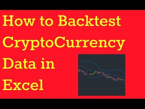 How To Backtest Cryptocurrency In Excel To Make Smarter Coin Purchases!
