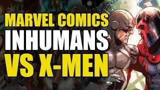 The Inhumans vs The X-Men (Marvel Now 2.0: Inhumans vs X-Men)