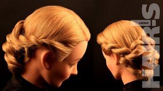 Делаем прическу из жгутов - видеоурок (мастер-класс) Hair's How.