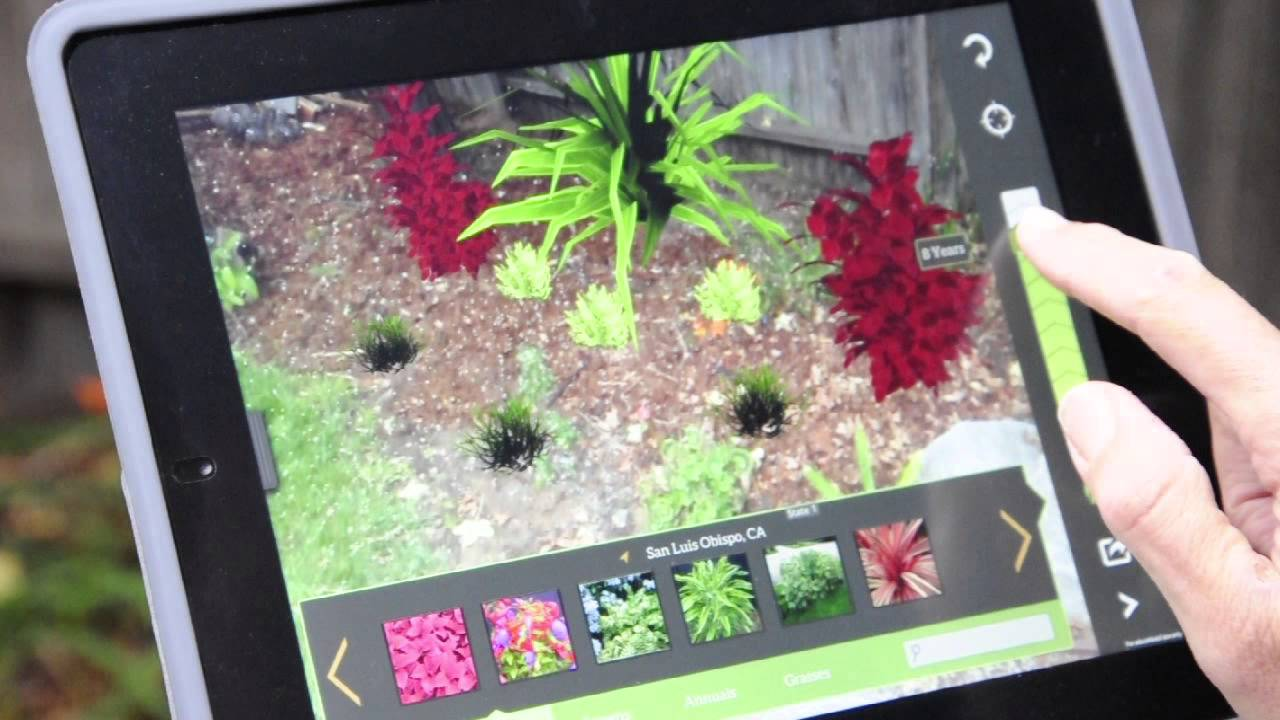 Garden Designer App garden design software garden design software virtual architect decor Prelimb 3d Garden Design App For Mobile Devices Know Before You Grow Youtube