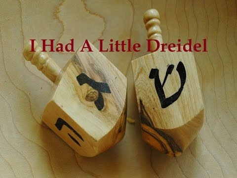 I Had A Little Dreidel with Lyrics