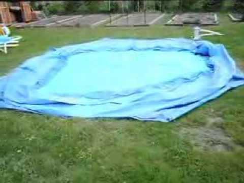 Problems setting up summer escapes quick set pool