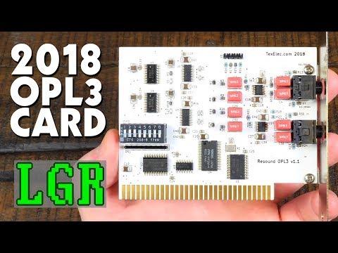 LGR - Resound OPL3: New Surround Sound AdLib Card