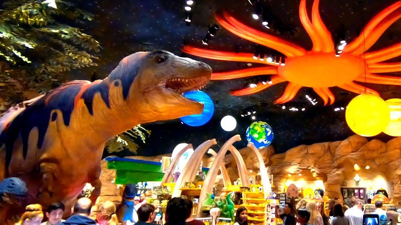 T Rex Restaurant Disney Springs Downtown Disney Orlando Florida Walking Tour