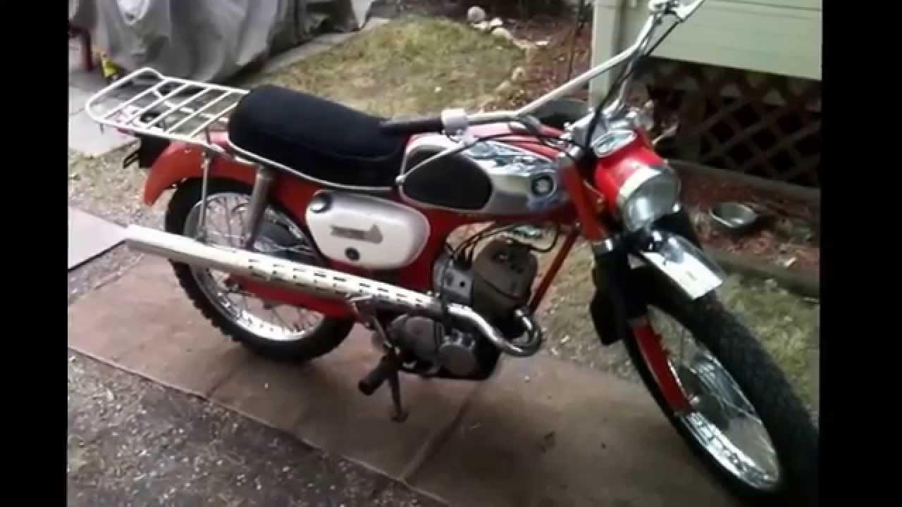 Vintage Suzuki Motorcycle 46
