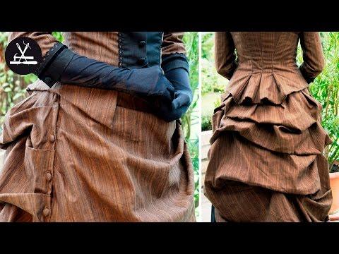 Viktorianisches Kleid Teil 1: Drapieren eines Rockes