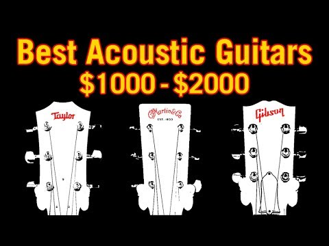 Best Acoustic Guitars: $1000-$2000