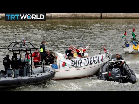 Gaza Flotilla: 'Freedom Flotilla' en route to the Gaza Strip