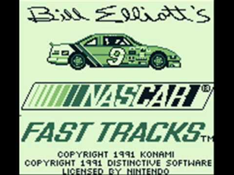 Bill Elliott's NASCAR Fast Tracks Game Boy Title Music